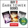 Buy 2 Stephen King Dark Tower novels and Save 10% - Thumbnail
