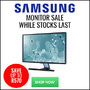 Samsung 22, 24 and 27 inch Monitors now on Sale - Thumbnail