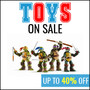 Toys on Sale - Save Up To 40% - Thumbnail