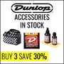 Dunlop Guitar Accessories In Stock - Buy 3 and Get 30% Off - Thumbnail