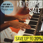 Keyboards and Digital Pianos on Sale - Thumbnail