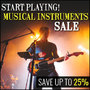 Start Playing! - Musical Instruments Sale - Thumbnail