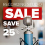 Recording Studio Sale - Save Up To 25% - Thumbnail