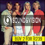 Buy 2 Sound & Vision CD/DVD combos for R239 - Thumbnail