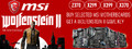 Buy Selected MSI Motherboard and Get a Wolfenstein II Game Key - Thumbnail
