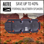 Altec Lansing Portable Audio Sale.  Save up to 40% - Thumbnail