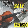 Sandner Starter Violins on Sale - Save R500 - Thumbnail