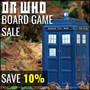 Dr Who Board Game Sale - Save 10% - Thumbnail