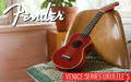 Fender California Coast Venice Series Soprano Ukulele's Now Available - Thumbnail
