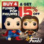 Funko Pop Figure Bundle - Buy 4 and Get 15% Off - Thumbnail