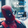 Buy 2 Ultra HD 4K Blu-ray & Get 15% Off - Thumbnail