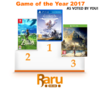 Game of the Year 2017 Poll Results and Winner - Thumbnail