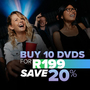 Hot Bundle Deal: Buy 10 DVD's for R199 - Thumbnail