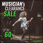 Musician's Clearance Sale - Up To 60% Off - Thumbnail
