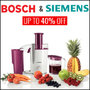 Up To 40% Off On Bosch and Siemens - Thumbnail