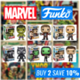 Marvel Funko Sale - Buy any 2 selected Funko's and save 10% - Thumbnail
