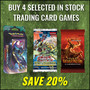 Buy 4 Selected In Stock Trading Card Games Save 20% - Thumbnail