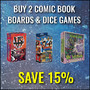 Buy 2 Selected Comic Book Boards & Dice Games Save 15% - Thumbnail