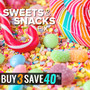 In Stock Snacks & Sweets: Buy 3 & Save 40% - Thumbnail