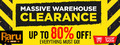 Warehouse Clearance - Video Games - Up To 50% Off - Thumbnail