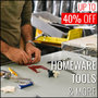Up To 40% Off On Homeware, Tools & more - Thumbnail