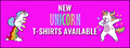 New Unicorn T-Shirts Available to Order - Thumbnail