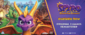 Spyro Reignited: Remastered Trilogy (PS4/Xbox One) Now Shipping for Tuesday's Street Date - Thumbnail