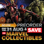 Pre-Order Marvel's Avengers: Infinity War (DVD/Blu-Ray/3D Blu/Ray) for 31 August and Save on More Marvel Collectibles - Thumbnail