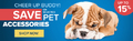 Save Up To 15% on Pet Accessories - Thumbnail