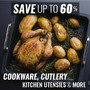 Save Up To 60% On Kitchen Utensils, Cookware, Cutlery & more - Thumbnail