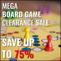 Mega Board Game Clearance Sale, More Than 50 New Titles Added - Save Up to 75% - Thumbnail