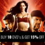 Hot Bundle Deal: Buy 10 DVD's & Get 15% Off. More than 2000+ DVDs to pick from! - Thumbnail