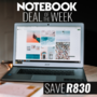 Notebook Deal of the Week - Save on this HP 250 G6 i5-7200U 4GB RAM 500GB HDD 15.6 Inch FHD Notebook - Thumbnail
