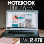 Notebook Deal of the Week - Save on this Gigabyte Sabre 17G i7-8750H 8GB RAM 1TB HDD nVidia GeForce GTX 1050 17.3 Inch FHD Gaming Notebook - Thumbnail