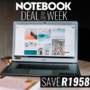 Notebook Deal of the Week - Save on this HP ProBook 440 G5 i3-7100U 4GB RAM 500GB HDD 14 Inch HD Notebook - Thumbnail