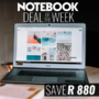 Notebook Deal of the Week - Save on this HP 250 G6 i3-5005U 4GB RAM 500GB HDD 15.6 Inch HD Notebook - Thumbnail