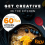 Up To 60% Off Kitchenware - Thumbnail