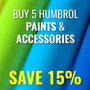 Buy 5 Humbrol Model Paints & Accessories - Save 15% - Thumbnail