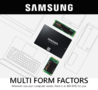Featured: Samsung - 860 EVO & PRO Solid State Drives - Thumbnail