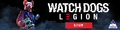 Watch Dogs: Legion (PS4/Xbox One/PS5) Standard, Gold & Ultimate Editions on Pre-Order + Bonus DLC - The Golden King Pack - Thumbnail