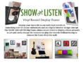 Featured - Show & Listen - Vinyl Record Display Frames - Thumbnail