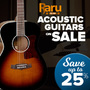 Acoustic Guitars on Sale - Save up to 25% on Selected Tanglewood & Takamine Guitars - Thumbnail